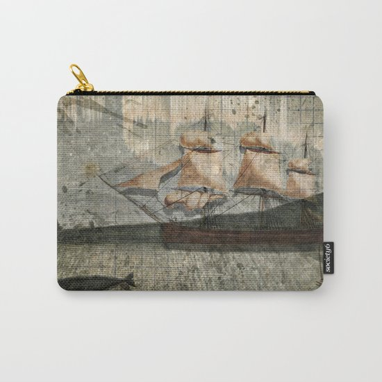 paper III :: octopus/ship Carry-All Pouch