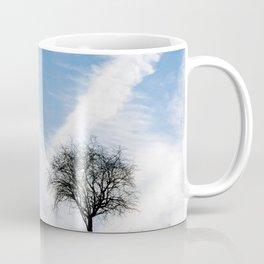 Two Trees In Autumn Coffee Mug