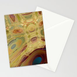 Oil on Water 1 Stationery Cards