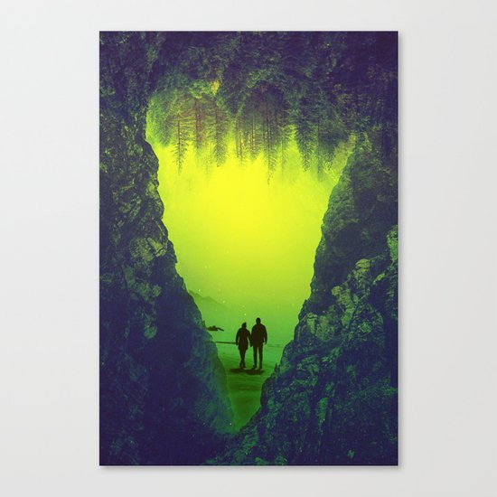 Toxic Forestry Together Canvas Print