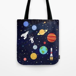 In space Tote Bag