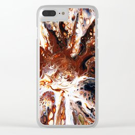 Deconstructed Caramel Sundae Clear iPhone Case