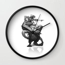 Dumb and Dumber Wall Clock