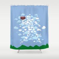 QB Formation Shower Curtain