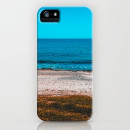 Rural beach at Greece iPhone Case