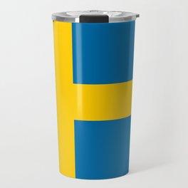 National flag of Sweden Travel Mug
