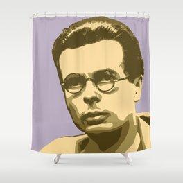 Aldous Huxley Shower Curtain