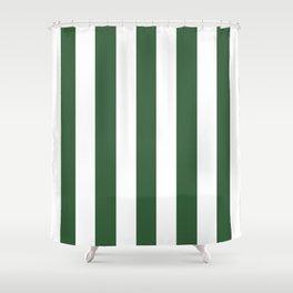Hunter Green Shower Curtains