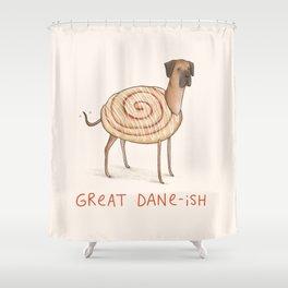 Great Dane-ish Shower Curtain
