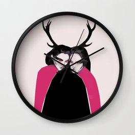 Horns Wall Clock