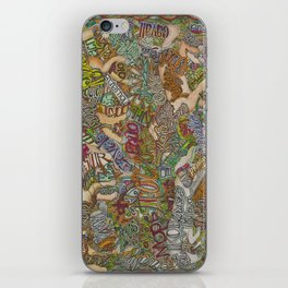 Horse in many languages iPhone Skin