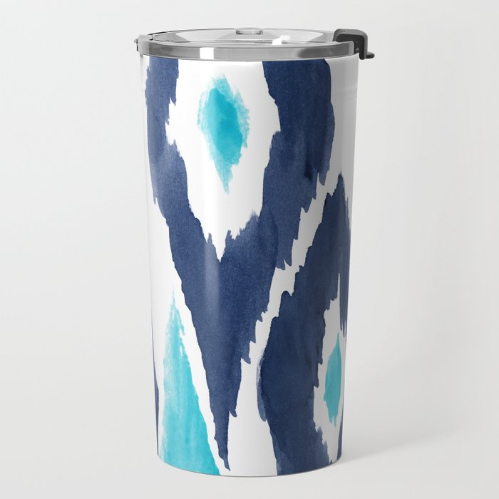 Malibu Ikat Travel Mug