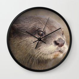 Otterly gorgeous!! Wall Clock