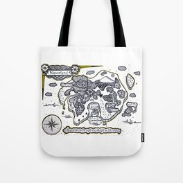 Neverland Illustration  Tote Bag