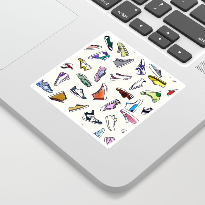 sneakers addiction Sticker