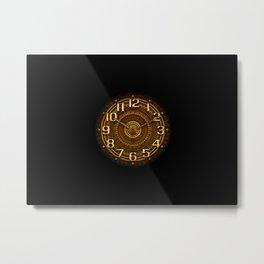 vintage clock_29 Metal Print