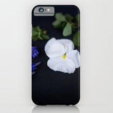 Lavandula and a Pansy Slim Case iPhone 6s