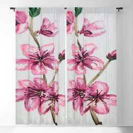 Cherryblossoms Blackout Curtain