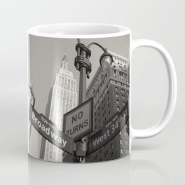 Broadway & West 34th St. - N.Y.C. - Empire St. Bldg.  Coffee Mug