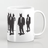 reservoir dogs Mugs featuring Reservoir Dogs by Clayton Dixon