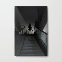 L'Esprit De L'Escalier Metal Print