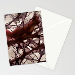 Squirrel glass IV Stationery Cards