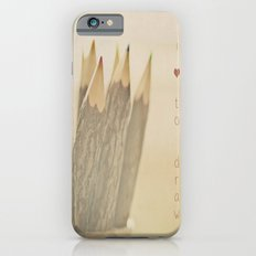 I Love to Draw Slim Case iPhone 6s