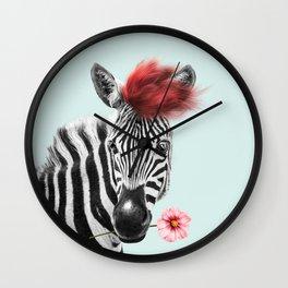 Zebra cool Wall Clock