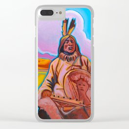The Warrior Clear iPhone Case