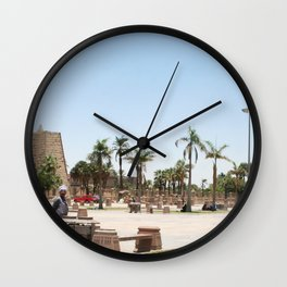 Temple of Luxor, no. 23 Wall Clock