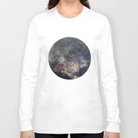 gravity Long Sleeve T-shirts featuring Gravity by Louise Donovan