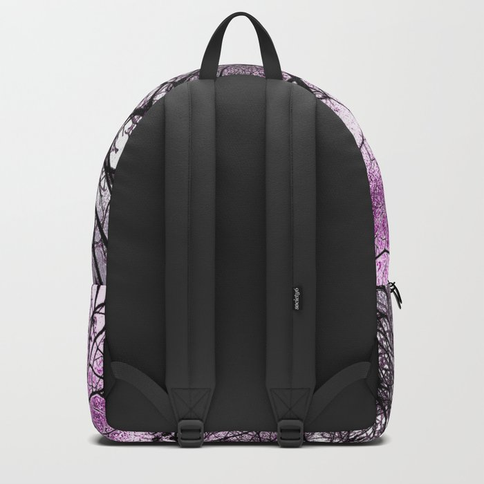 Twisted but Strong (violet orchid) Backpack