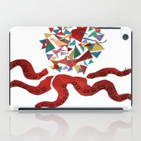 octopus iPad Cases featuring octopus by March Hunger