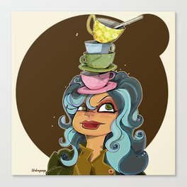 Tea Tyme Y'all Canvas Print