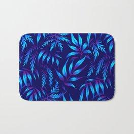 Brooklyn Forest - Blue Bath Mat