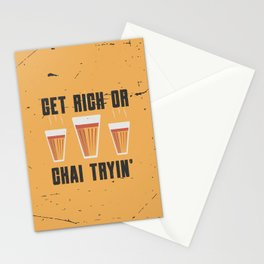 Funny Chai Quote Stationery Cards