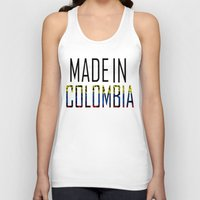 colombia Tank Tops featuring Made In Colombia by VirgoSpice