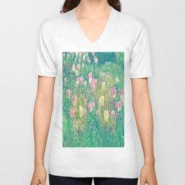 Tulip Poesie 1 Unisex V-Neck