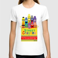 sesame street T-shirts featuring Color Me Sesame by Mike Boon