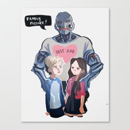 Best Dad Canvas Print