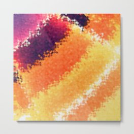 Glass Texture No2 Metal Print
