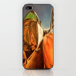 When you rust I will shine  iPhone Skin