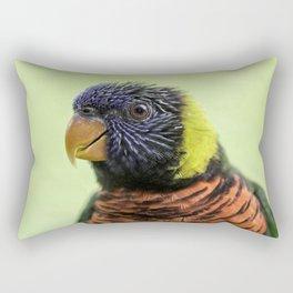 rainbow lorikeet Rectangular Pillow