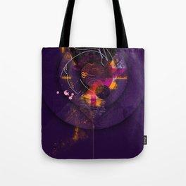 Spiral Geometric Dominance Tote Bag