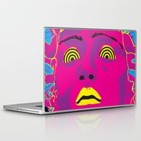 medusa Laptop & iPad Skins featuring Medusa by Mario Sayavedra