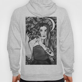 Hunter Behind The Mask - Black and White Hoody