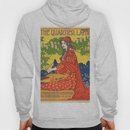 Vintage poster - The Quartier Latin Hoody