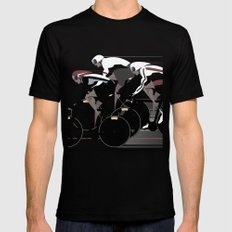 Velodrome Black 2X-LARGE Mens Fitted Tee