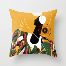 AZA Throw Pillow