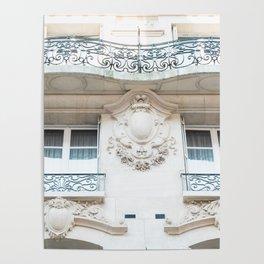 Parisian Architecture Splendor Poster